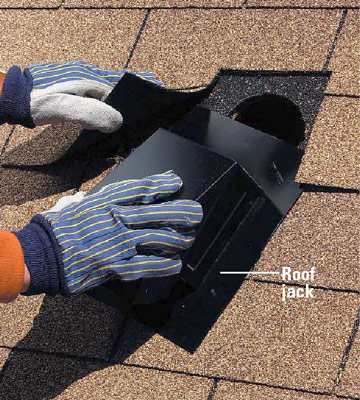 Installing A Bath Vent Fan How To Install A Fan Or Heater Home Install Roof  Jack