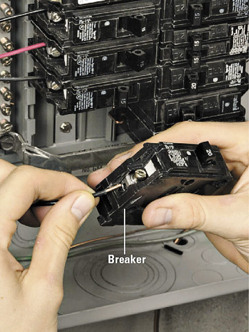 Hooking Up a New Circuit - How to Install Appliances & New ...