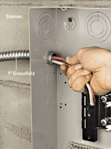 Installing an Electrical Subpanel How to Install