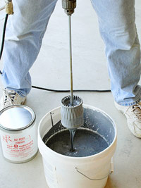 Mix epoxy solutions
