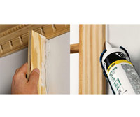 Screed drywall compound, Painter?s caulk