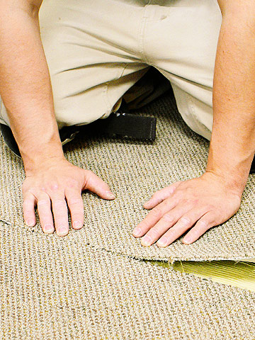 Installing Glued And Seamed Carpet How To Install
