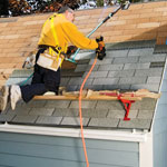 Installing shingles how to install asphalt other shingles roofing diy advice - Put bitumen shingles roof cover ...