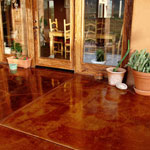 Copper Tile Flooring