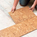 Man with Sub Base Floor Tiles
