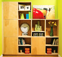 Modular, Contemporary Built-Ins