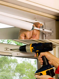 Install jamb-side bracket, Install screws that hold closer to door