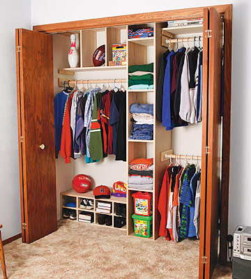 Closet Organization Woodworking Plans
