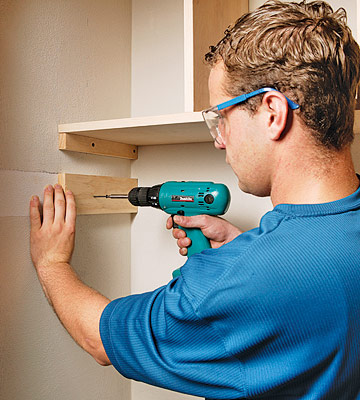 How To Build A Closet Organizer Finishing And Installing