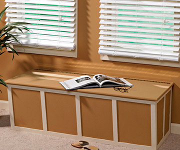 How to Build a Window Seat - Adding Extra Storage Space - Built