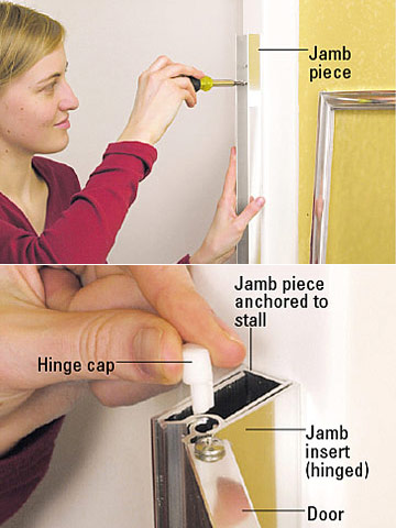 Building A Shower Enclosure How To Install A New