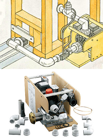 how to install pipe loops to balance the water pressure diagram bathroom. Black Bedroom Furniture Sets. Home Design Ideas
