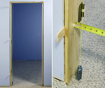 theres more than one way to plumb a door enlarge image