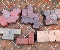 Precast pavers examples