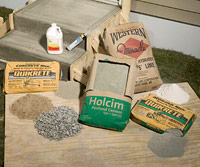 Mortar supplies