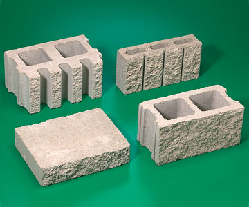 samples of block enlarge image - Decorative Concrete Block