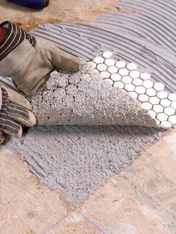 Mosaic Tile Installation Installing China Hzx