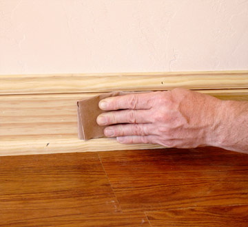 Painting And Staining Baseboards How To Install Amp Finish