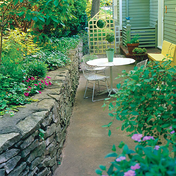 Planning a Small Space Patio - Patios, Walkways, Walls & Masonry