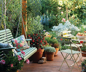 Deck Furniture and Seating - Planning & Design - How to Design & Build ...
