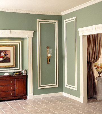 Ornate Decorative Moldings - Home Design Styles - Carpentry