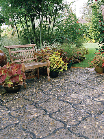 The Surface Texture Of A Patio Or Walkway Affects Style, Comfort, And  Safety. Light Reflectance, Surface Temperature, And Ease Of Cleaning And  Maintenance ...