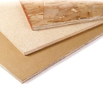 Types and grades of plywood particleboard fiberboard for Fiberboard roof sheathing