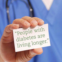 people with diabetes are living longer