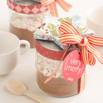 How to Make a Hot Cocoa Mix Jar