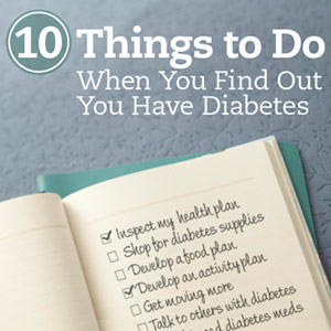 So You Have Diabetes -- Now What?