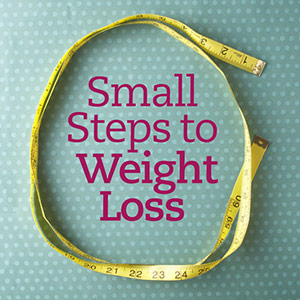 Small Steps to Weight Loss