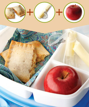 Healthy Breakfast #4: Apple and Cheese