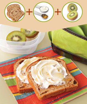 Healthy Breakfast #7: Cinnamon Swirl Bread and Spread
