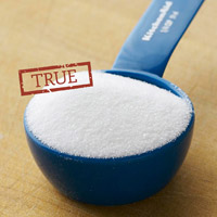True! a scoop of sugar