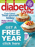 Diabetic Living Magazine Cover
