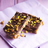 Chocolate-Orange Pistachio Bars