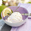 Lemon-Lavender Frozen Yogurt