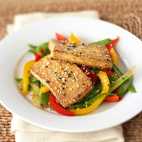 Crispy Tofu and Vegetables