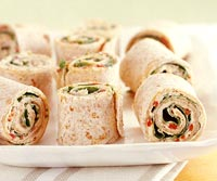 Roasted Pepper Roll-Ups