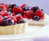 Berry-Cream Cheese Tart