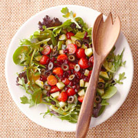 Cranberry Cucumber Salad