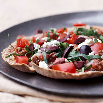 Greek Pita Pizzas | Diabetic Living Online