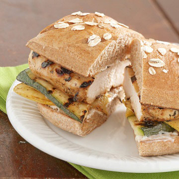 Grilled Chicken Sandwiches Diabetic Living Online