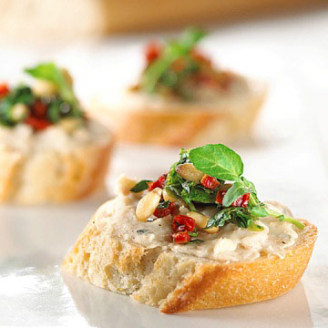 White Bean and Tomato Bruschetta | Diabetic Living Online