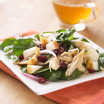 Chicken, Pear, and Parmesan Salad | Diabetic Living Online