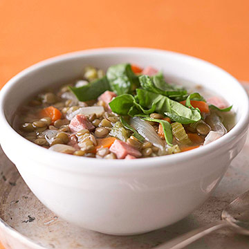 Lentil and Ham Soup | Diabetic Living Online
