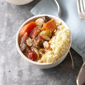 Moroccan lamb tagine diabetic living online moroccan lamb tagine forumfinder Image collections