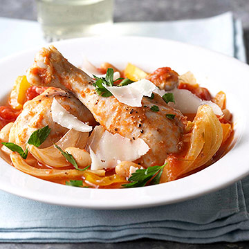 Italian Braised Chicken with Fennel and Cannellini ...
