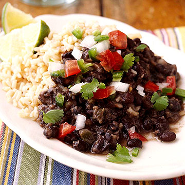 cuban rice with black beans