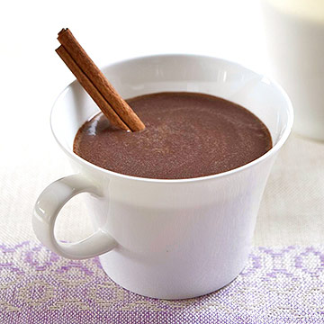 Cinnamon-Spiced Hot Chocolate · enlarge..